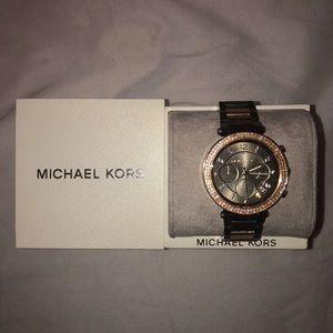 Michael Kors Brown/Gold Watch